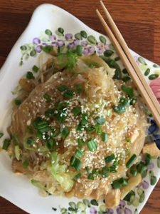 Sweet & Sesame Savory Noodles