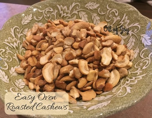 Easy Oven Roasted Cashews